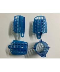 Пластиковая сетка для фидерной кормушки d-30. ( синяя - большая )