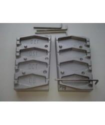 Форма для скользящих грузил FM-33