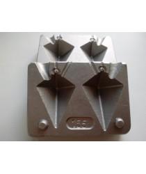 Форма для грузил FM - 155