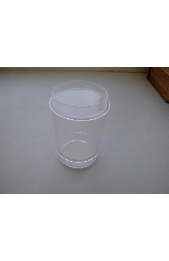 Сменный пластиковый стакан  для порошковой краски.