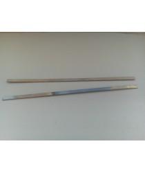 Закладные пластины для формы разборная чебурашка.  d - 0,8мм. Размеры Д/Ш/В - 130/3,5/0,9мм.