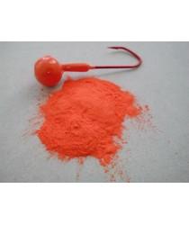Порошковая краска. Цвет ярко оранжевый. ( 200гр )