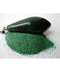 Порошковая краска на основе ПВХ. Расцветка: Зеленая № 4.