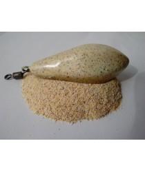 Порошковая краска на основе ПВХ.Расцветка: Желтый песок.