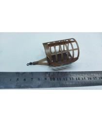 Фидерная кормушка НАХАЛ с вертлюгом (коричн 40гр)