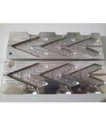 Форма для литья грузил - Ласточкин хвост 110, 120, 140гр