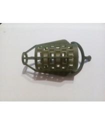 Пластиковая сетка для фидерной кормушки пуля  ( зеленая )